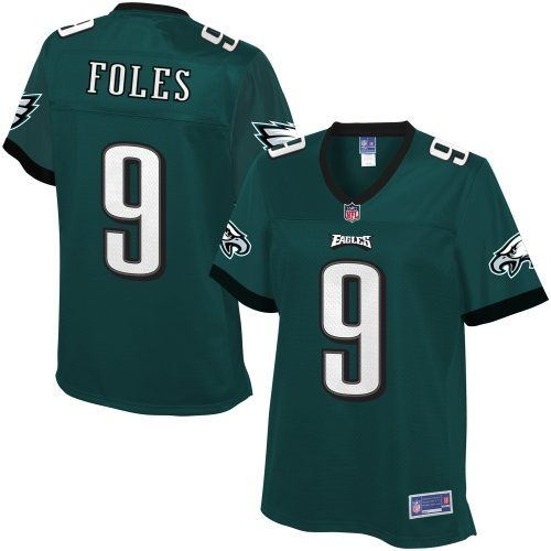 Pro Line Women s Philadelphia Eagles Nick Foles Team Color Jersey ... 0737dab94