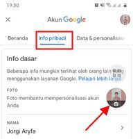 cara mengganti foto profil di google meet
