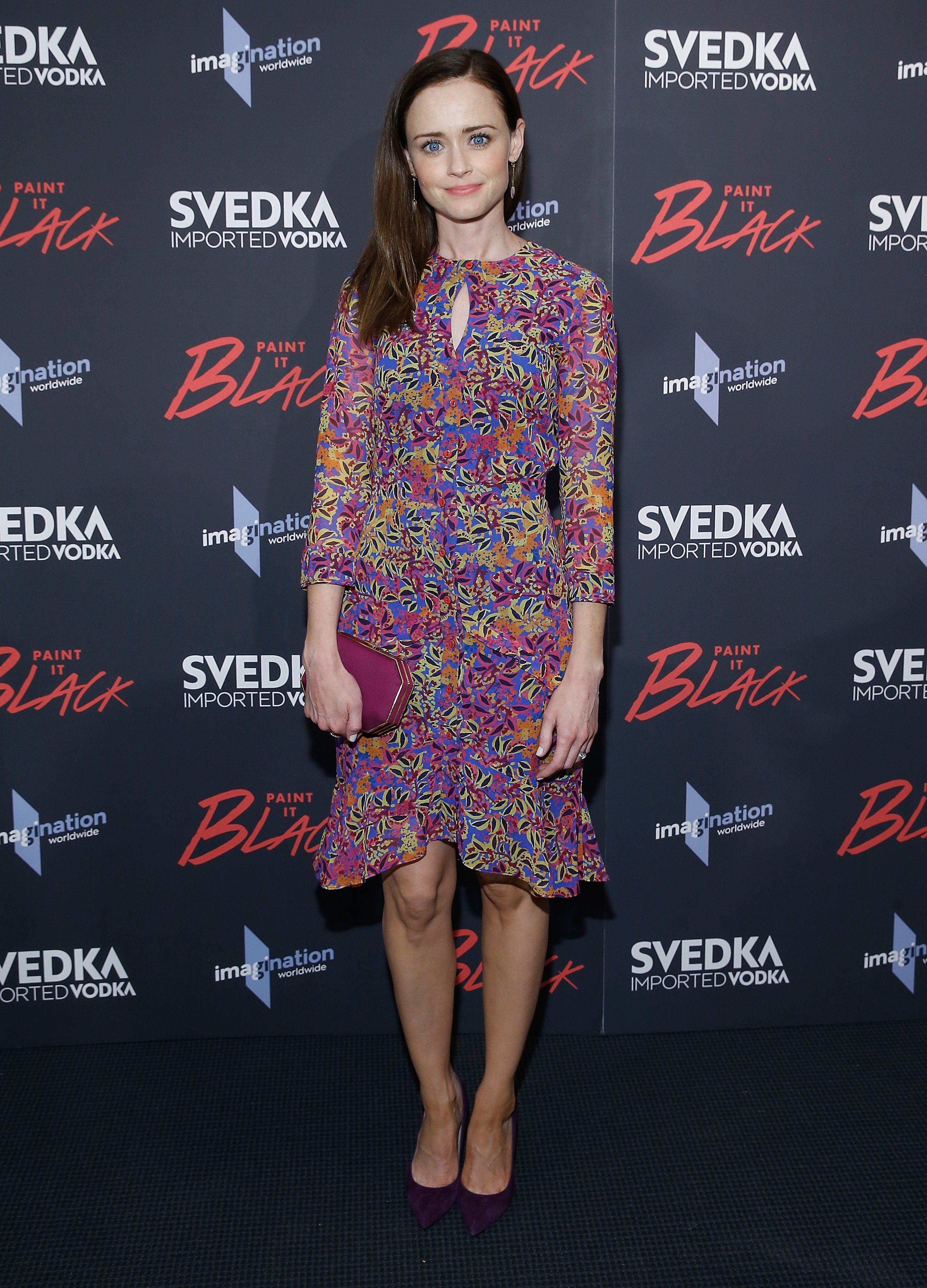 Asombroso Alexis Bledel Vestido De Novia Ornamento - Vestido de ...