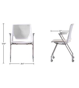 haworth very side chair at officedesigns com charts furniture