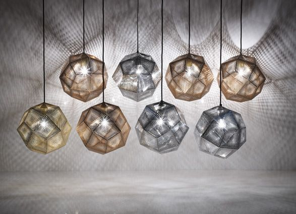Gorgeous Tom Dixon lighting