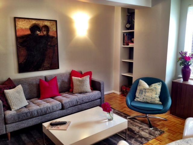 Brownstone In Brooklyn Ny By Boconcept Olympia Sofa Veneto Chair Chiva Coffee Table Blank Grey Rug Shop Interiors Interior Boconcept