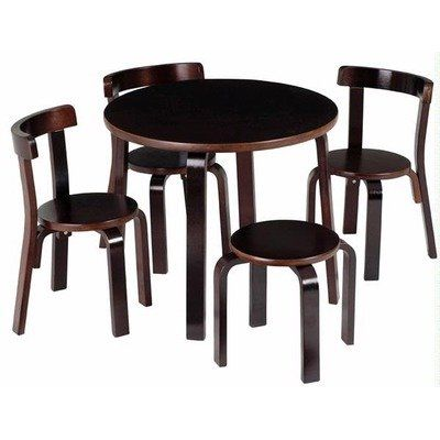 Amazing Amazon Com Play With Me Table And Chair Set Espresso Home Download Free Architecture Designs Jebrpmadebymaigaardcom