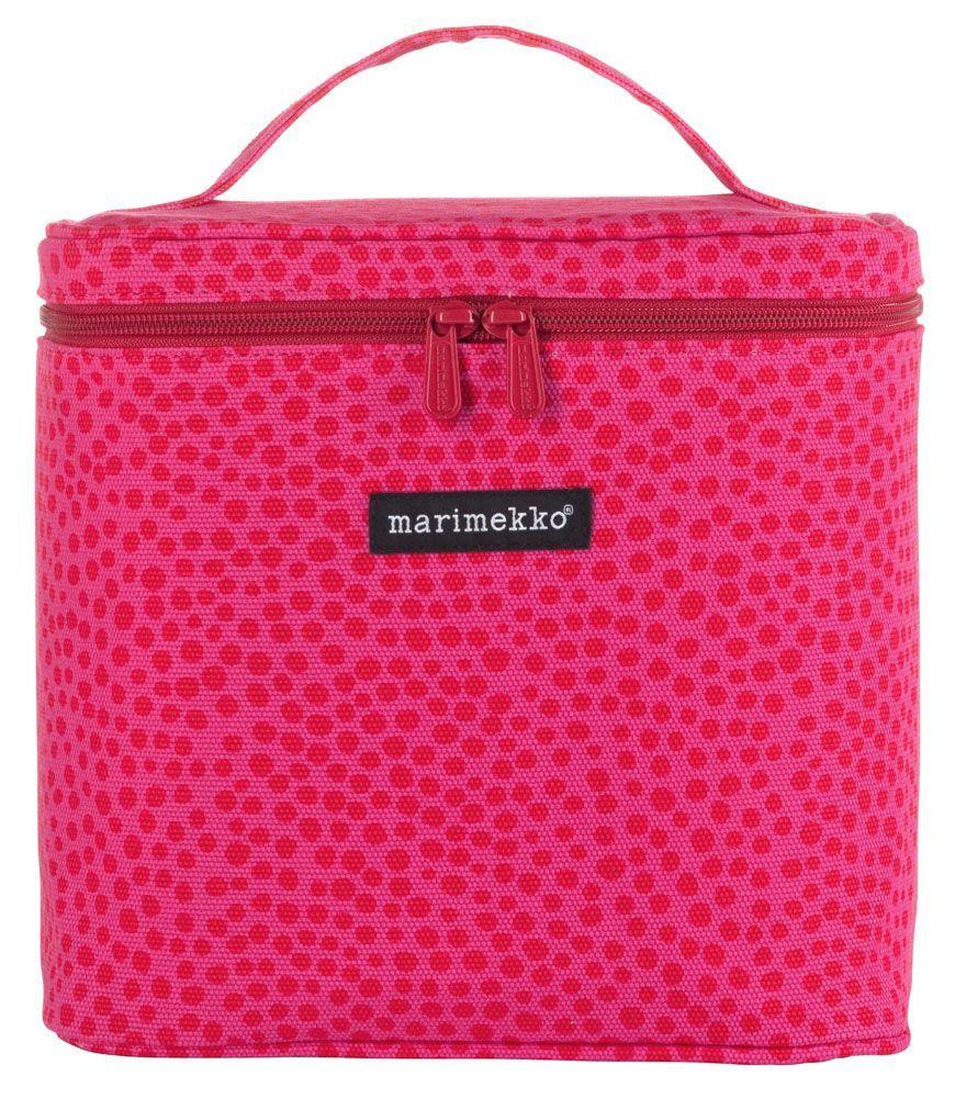 Varpu Pirput Parput Cosmetic Case Red/Pink