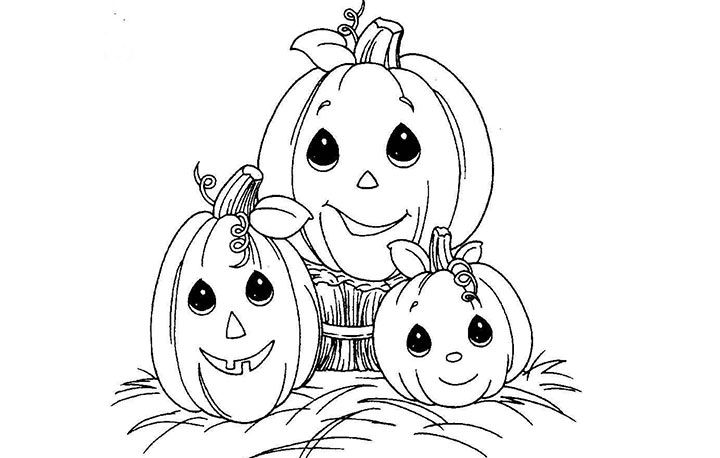 Top 10 Free Printable Halloween Pumpkin Coloring Pages Online Precious  Moments Coloring Pages, Pumpkin Coloring Pages, Fall Coloring Pages