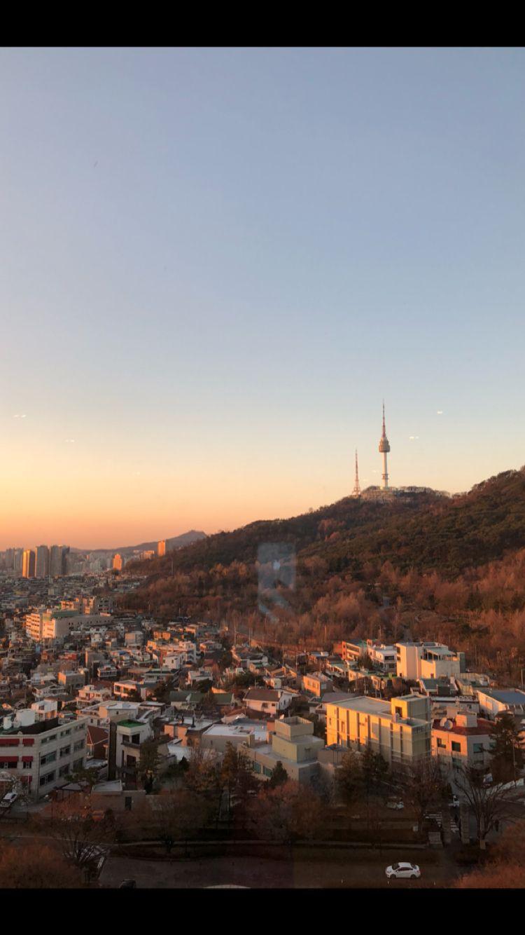 Grand Hyatt Hotel // Seoul   The most beautiful view of Namsan Park   - K.A.F.