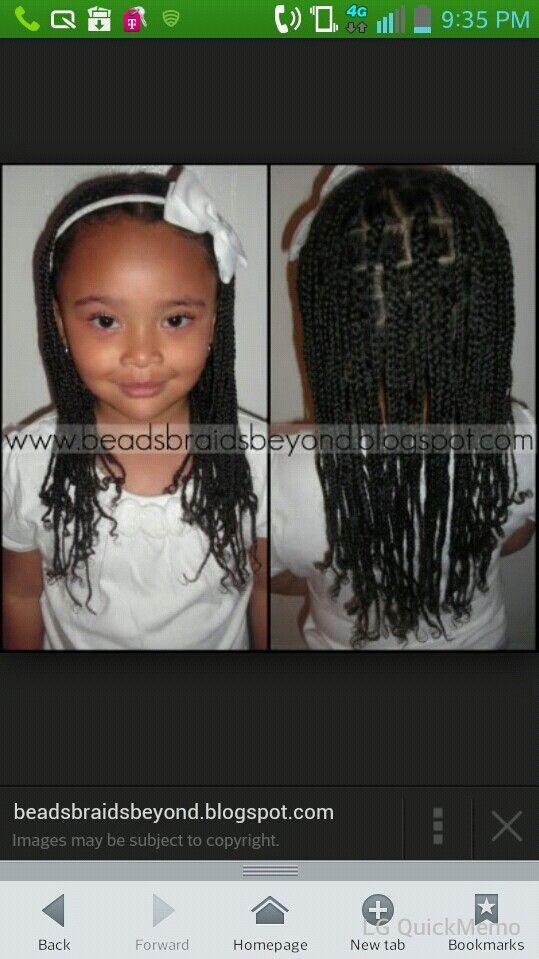 No weave box braids | Black kids hairstyles in 2018 | Pinterest ...
