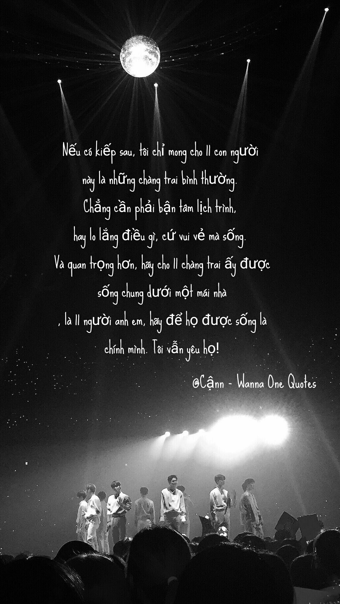 Wanna One Quotes