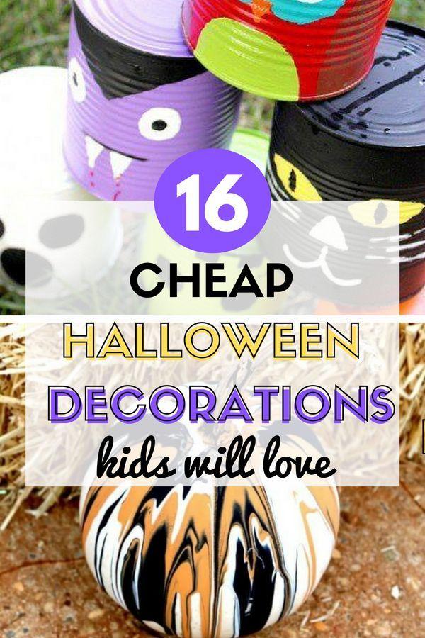 16 Ridiculously Frugal DIY Halloween Decor Hacks Personal Finance