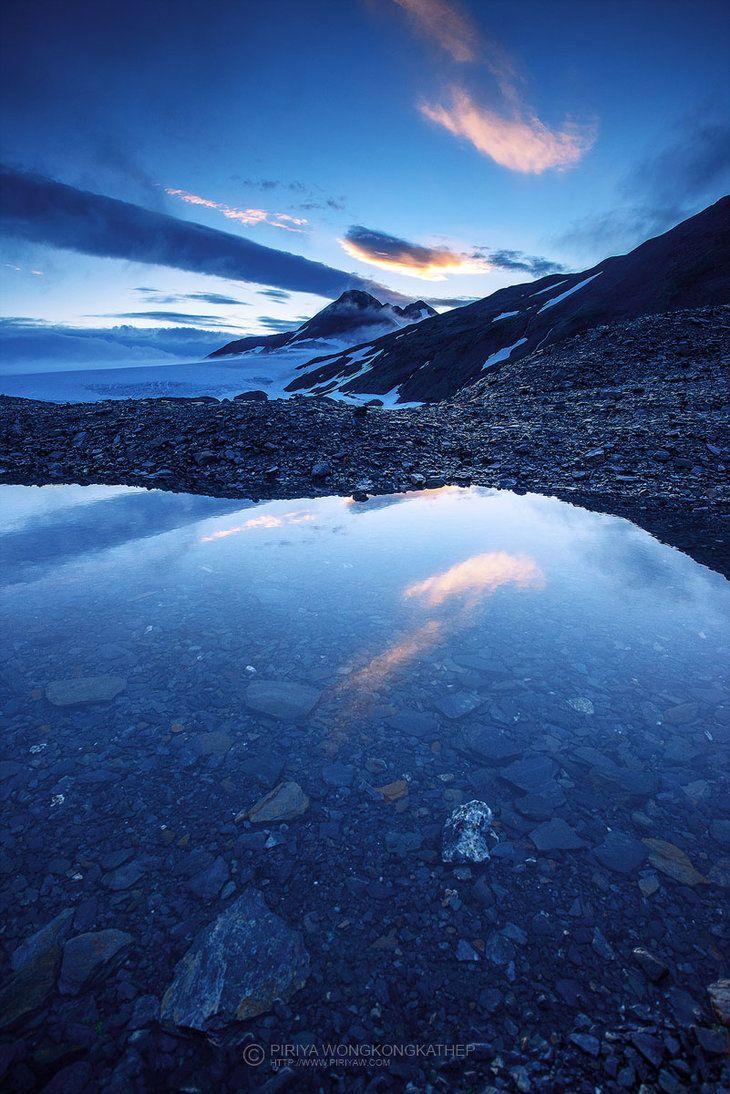 Harding Icefield by ~porbital