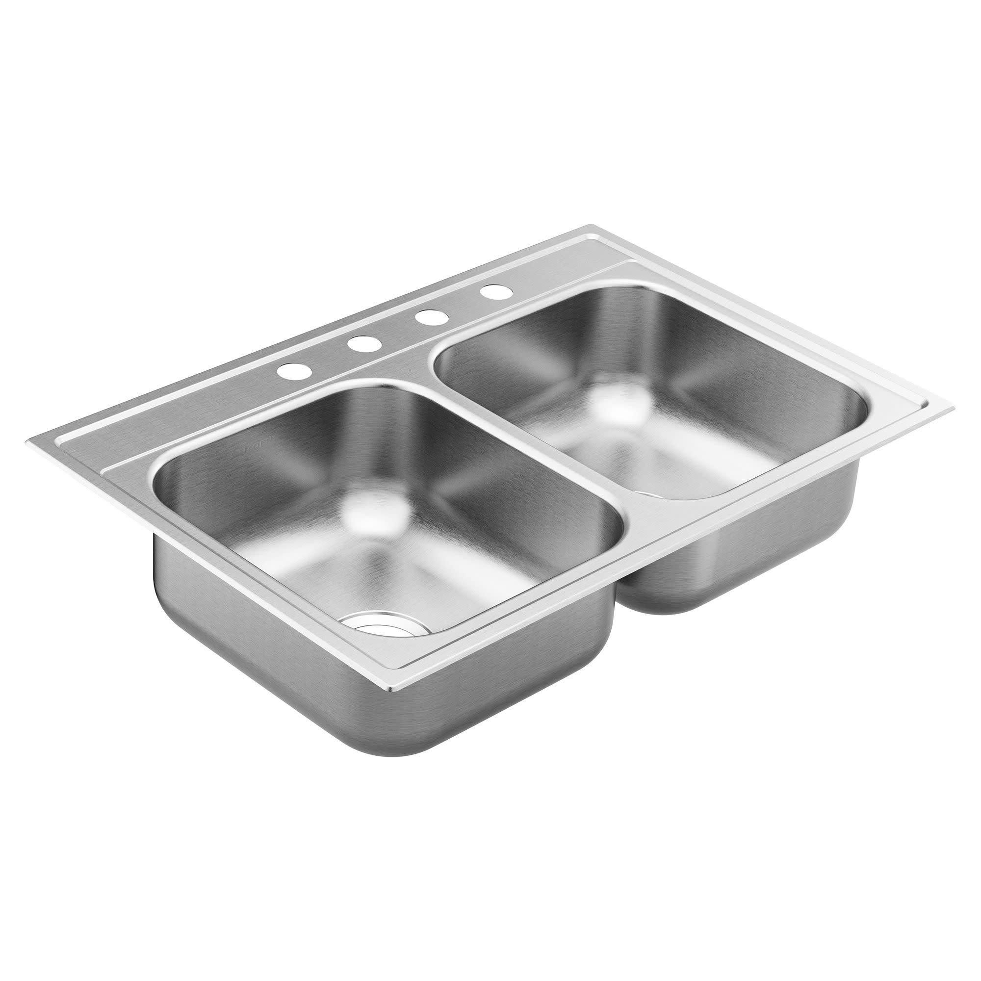 Just Mfg Extra Large Stainless Steel Apron Front Single Bowl Drop