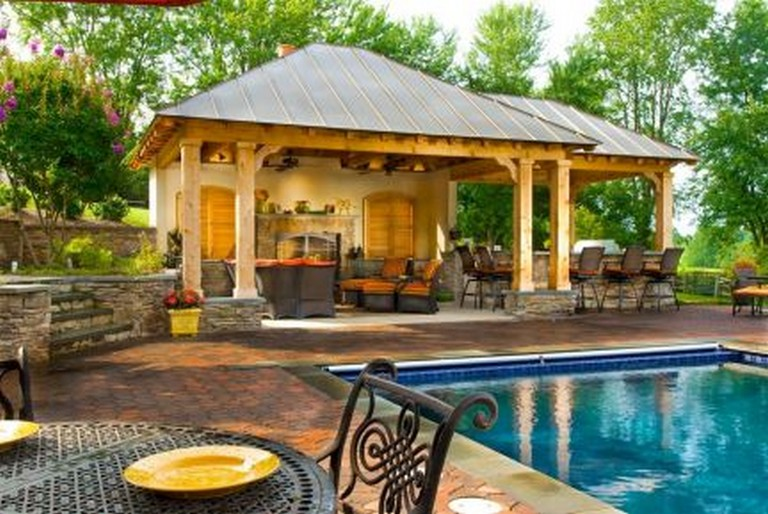 50 Incredible Backyard Ideas On A Budget For Small Yard Backyard Backyardideas Backy Outdoor Kitchen Design Layout Covered Outdoor Kitchens Backyard Gazebo