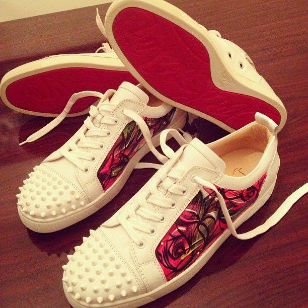 864555413e3 Custom Louboutin  sneakers
