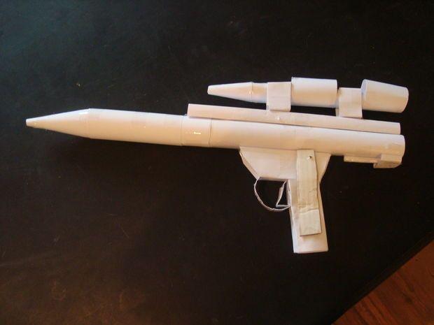 Paperguns zijn de max! Wist je dat ze ook papieren kogels kunnen afvuren! http://bit.ly/1mb5mUP