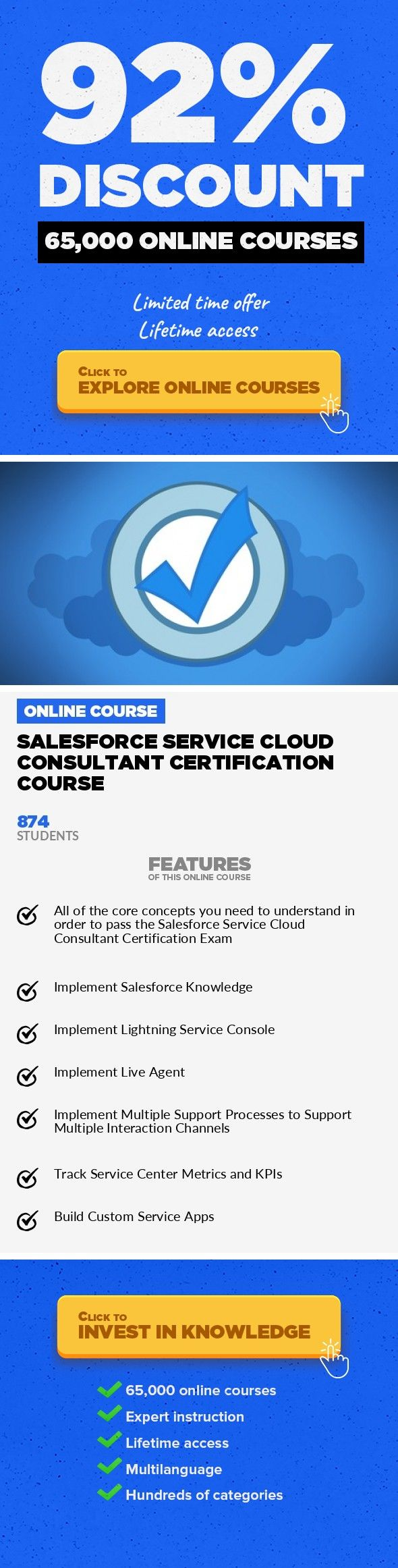 Salesforce Service Cloud Consultant Certification Course It