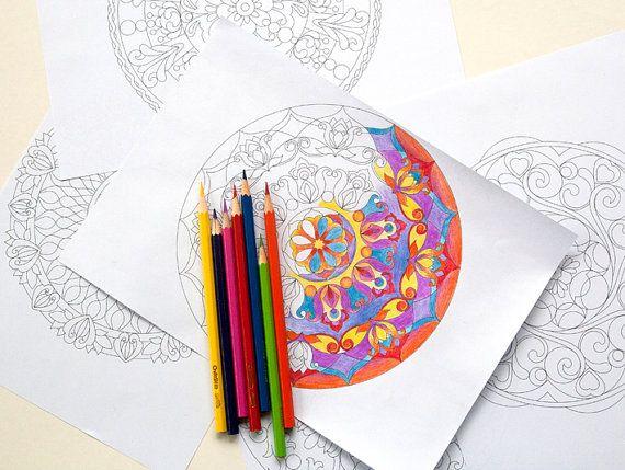 Mandala Coloring Pages Adults Printable : Mandala coloring pages. 10 printable mandala by egle stripeikiene