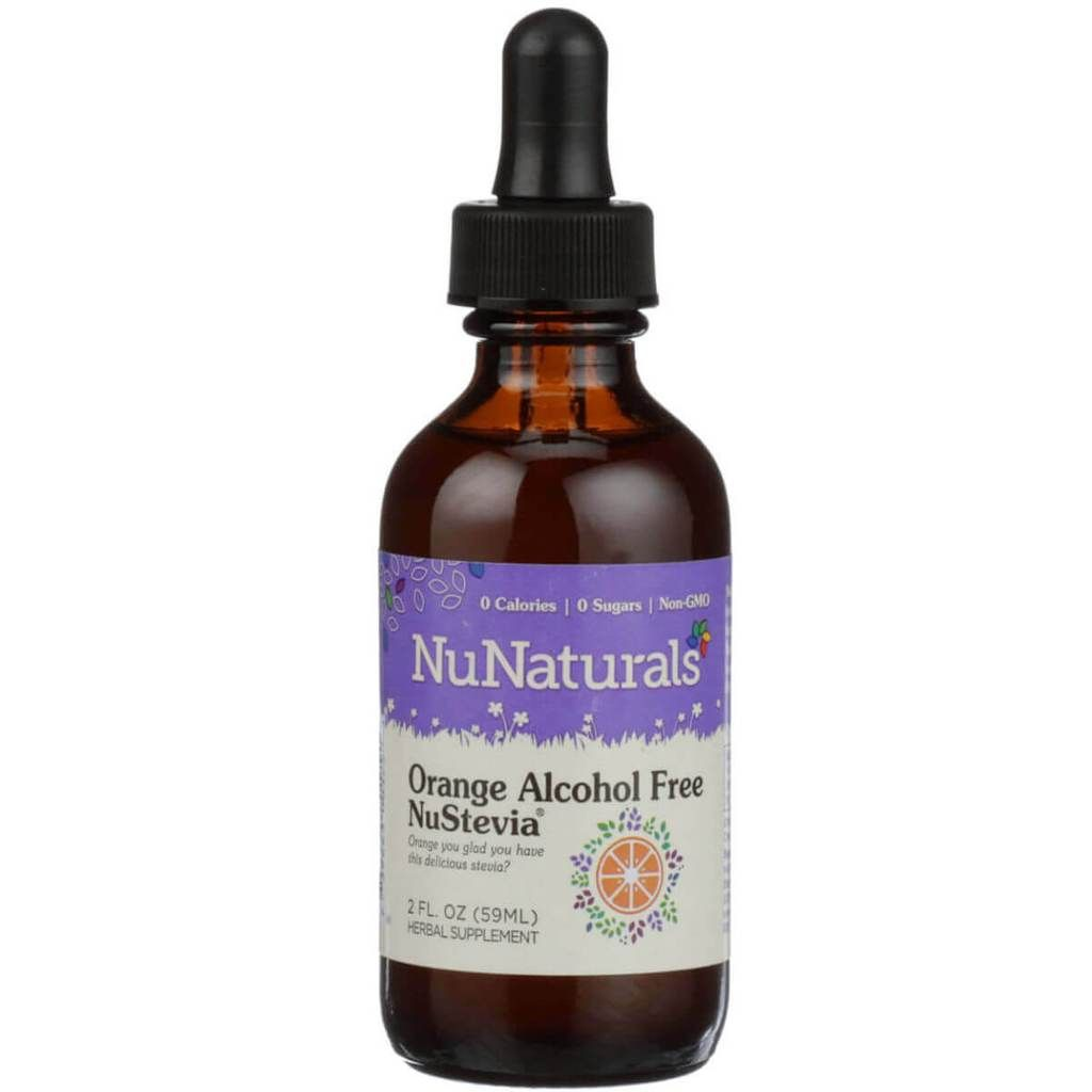 NuNaturals NuStevia Orange Alcohol Free Ingredients