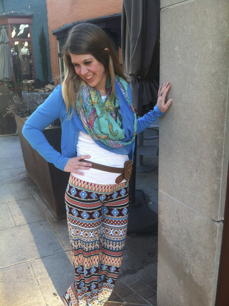 Boho spring prints - style - fashion - @ Papillon Apparel Asheville N.C.
