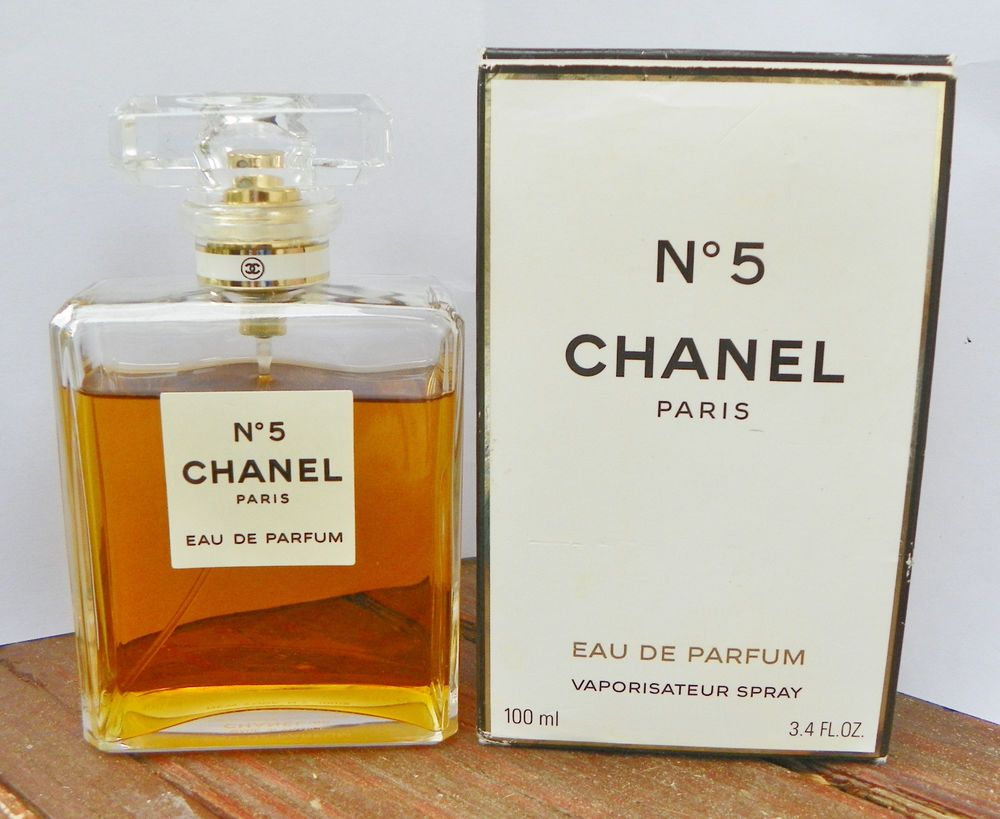 chanel no 5 eau de parfum 3 4 oz 100 ml bottle 90. Black Bedroom Furniture Sets. Home Design Ideas