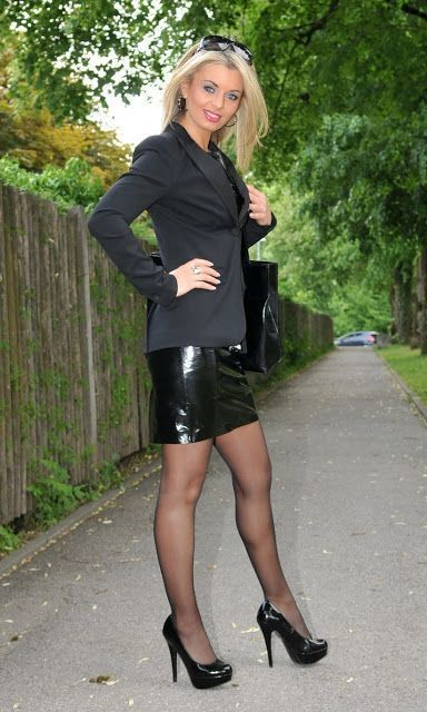 Miscellaneous Leather 111: Leather Pencil Skirts (Part 26) (Lovely Ladies in Lea… – planning.wine-toptrendpin.club