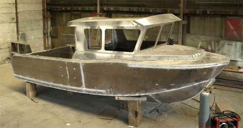 12 METER STEEL KITS POWER BOATS, boat building, boatbuilding, boat ...
