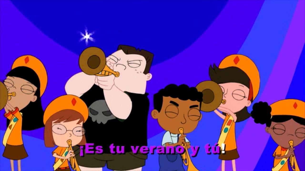Disney Channel España   El karaoke de Phineas y Ferb: ¡Es tu verano y tú!