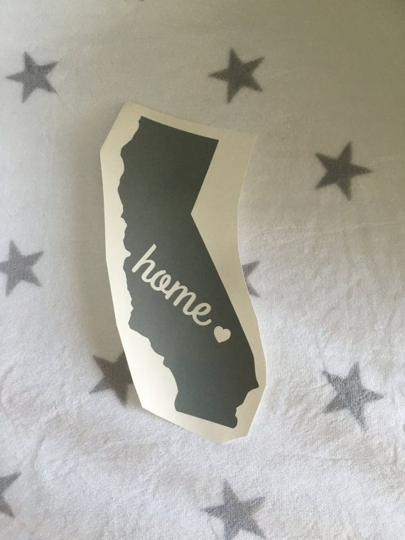 Car Decal California Decal HOME For Car Laptop Cup What To Make - How to make car decals at home