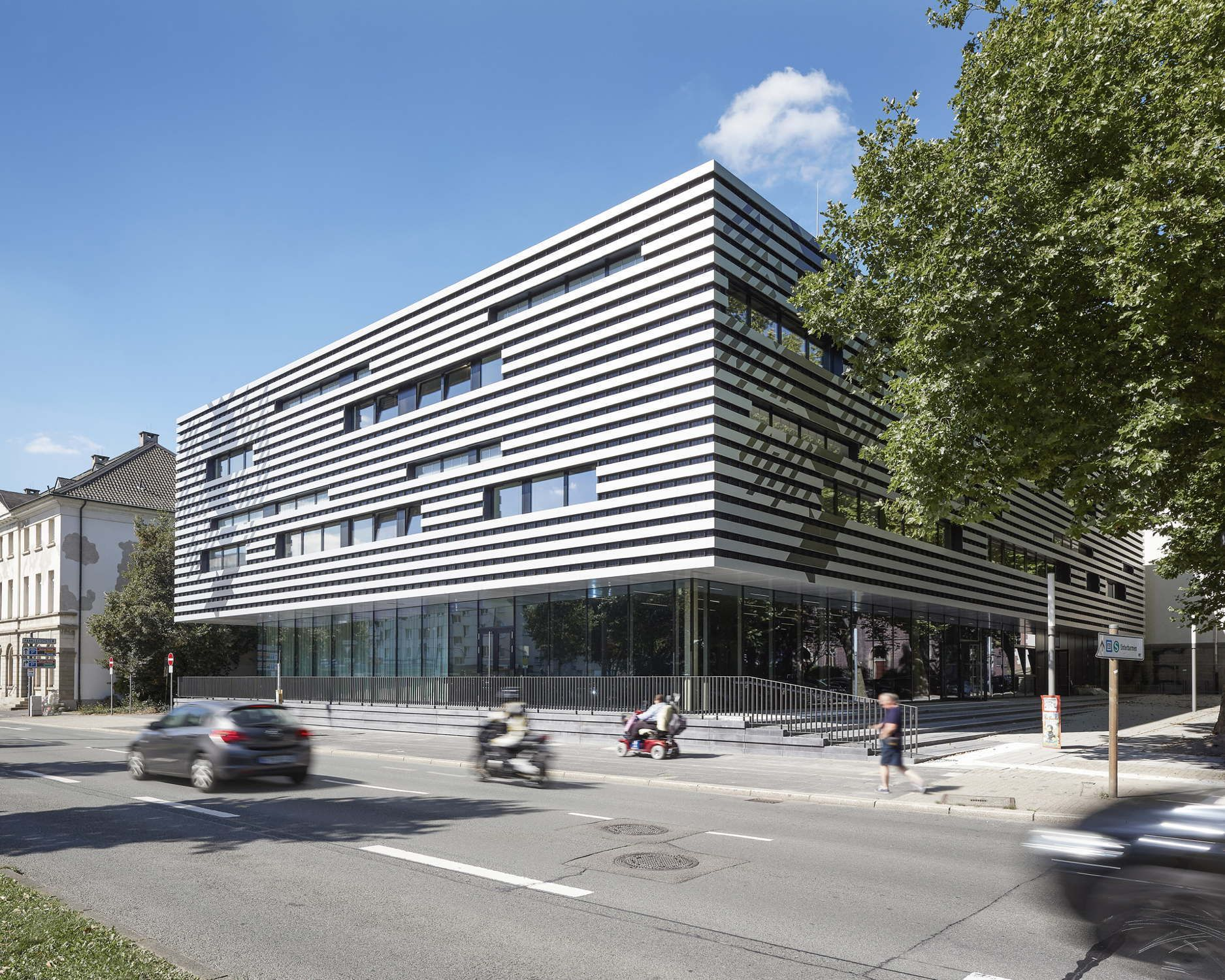 Architekten Wuppertal räume für architekten fakultätsneubau in wuppertal