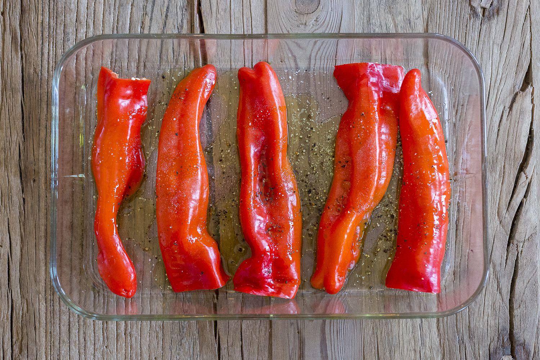oppskriftonsdag lun paprikasalat caroline berg eriksenno paprika ovn