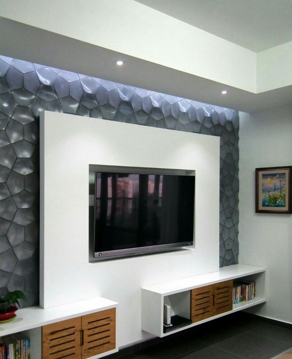 Pin by Imran Malik on Tv unit | Bedroom tv wall, Modern tv ...