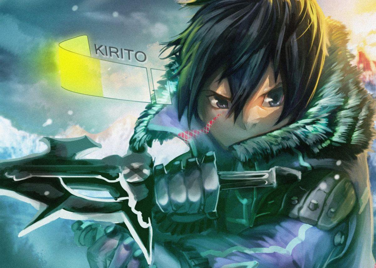 Anime Sword Art Online Anime & Manga Poster Print metal