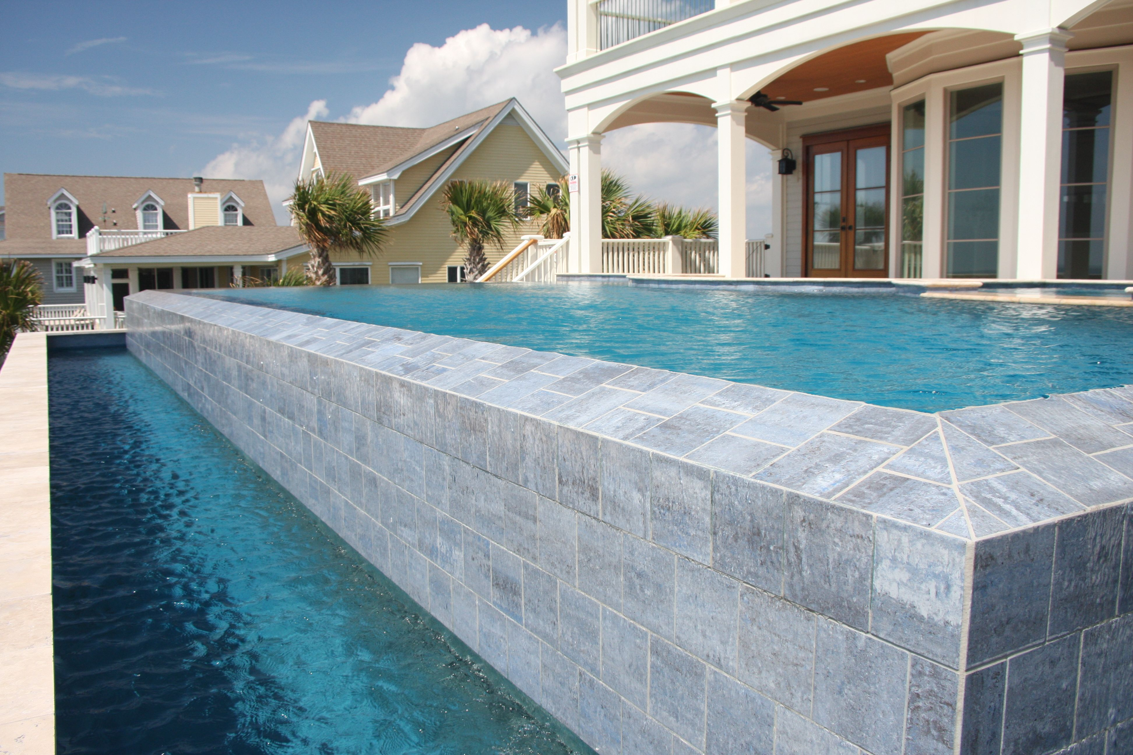 Infinity Edge Swimming Pools   ... Photos Are Different ...