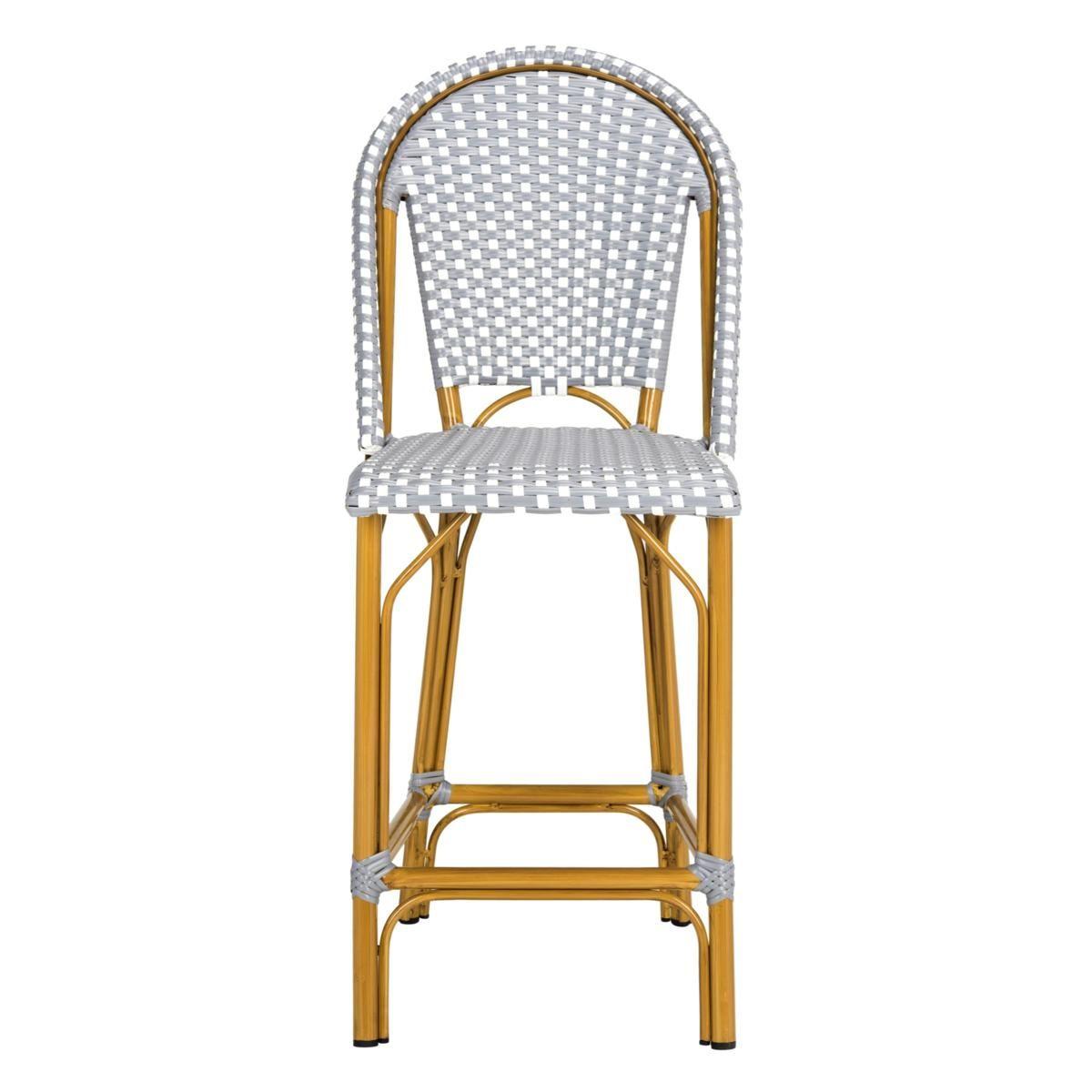 Strange Safavieh Gresley Indoor Outdoor Stacking French Bistro Machost Co Dining Chair Design Ideas Machostcouk