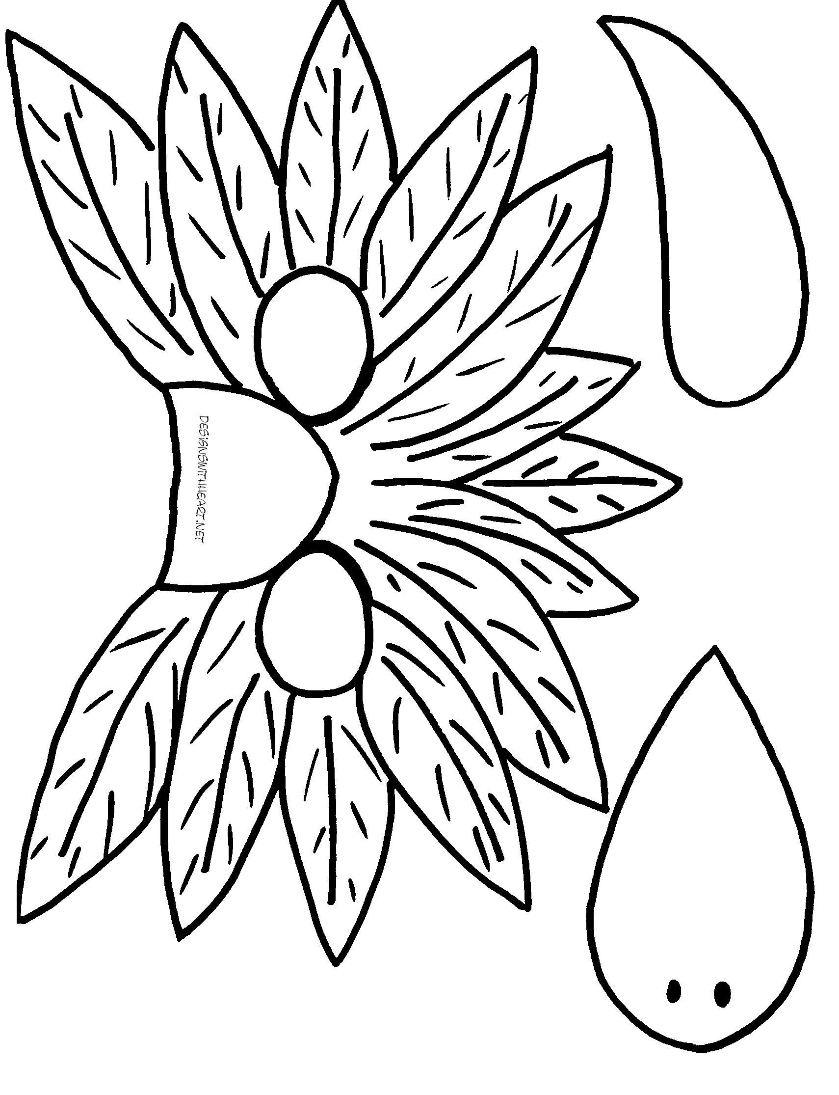 Printable Mask Patterns Bird masks