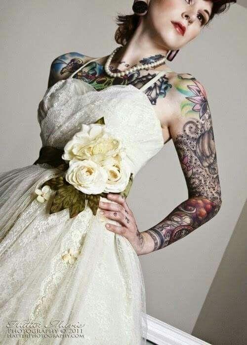 novia tatuada | boda jose&cris | pinterest | novias tatuadas, tapar