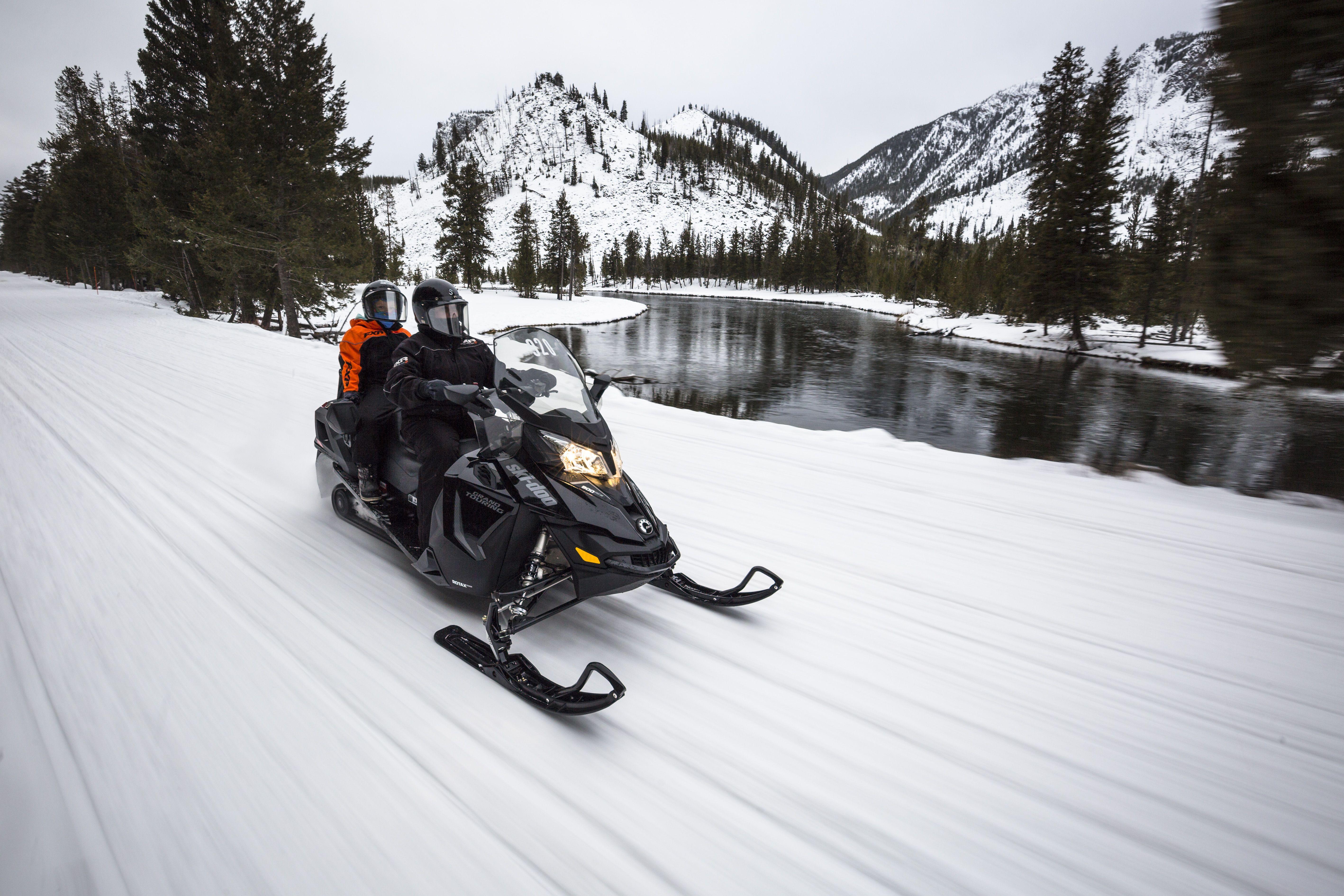 Talk About Adventure Yellowstone Vacation Yellowstone Tours Snowmobile Tours
