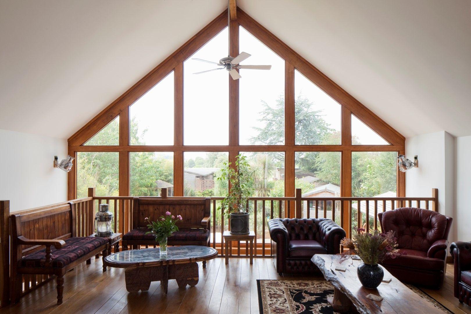 First Floor Mezzanine Gable Glazing Vaulted Ceiling