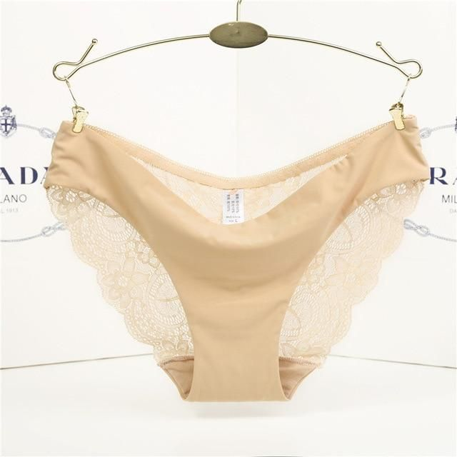 97d151597f Hot Sale women s sexy Thong lace panties seamless string panty briefs  Female underwear intimates Girl Women s