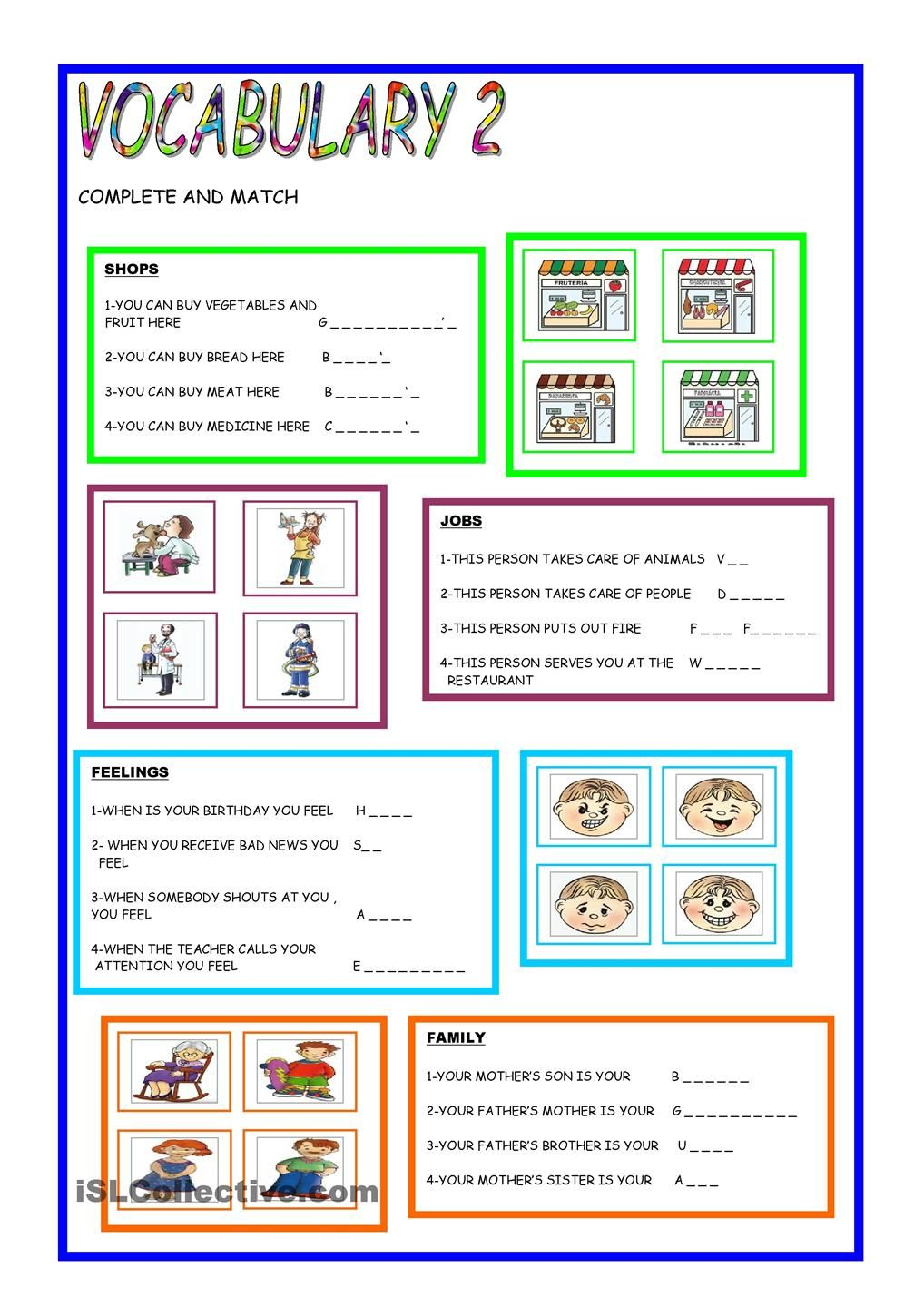 worksheet News 2 You Worksheets vocabulary 2 pinterest worksheets english class printable worksheetselementary