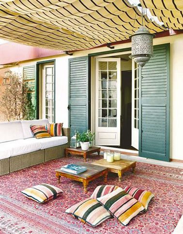 Terrasse zen id es et photos pour une terrasse sympa for Salon zen rabat tarifs