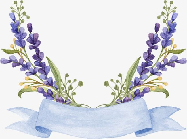 Lavender Flowers Watercolor Small Fresh Small Fresh Lavender Clipart Flower Background Wallpaper Flower Painting Floral Logo Design