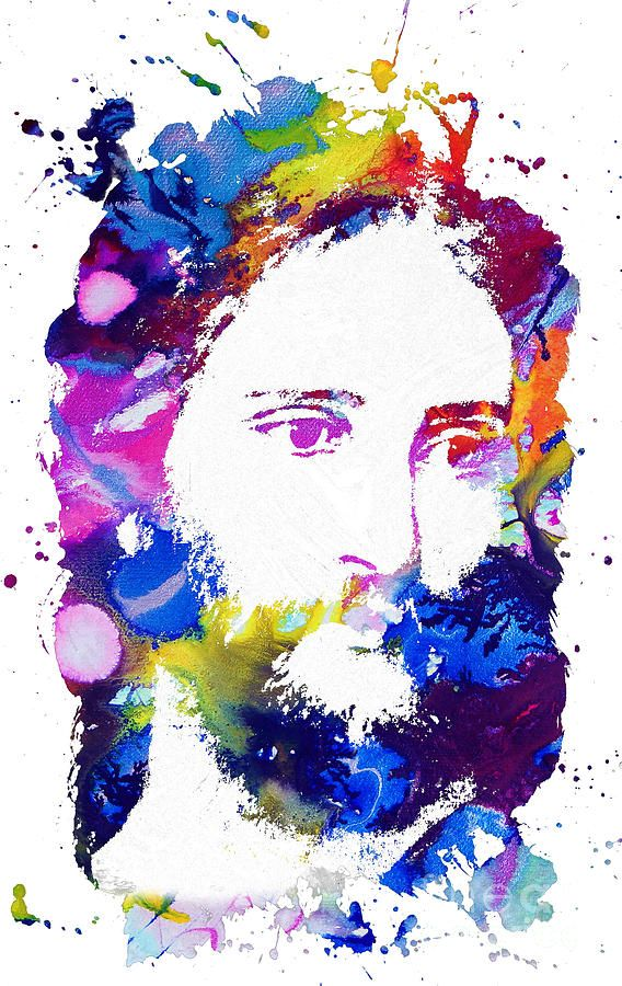 Jesus Watercolor Google Search Art Jesus Artwork
