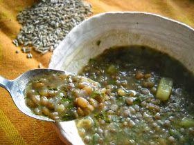 cincia del bosco: Zuppa di segale e lenticchie