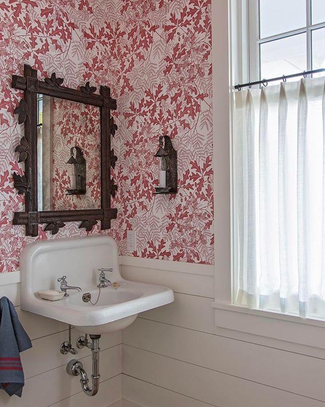 Marthe Armitage Wallpaper And Fabrics Bathroom Inspiration