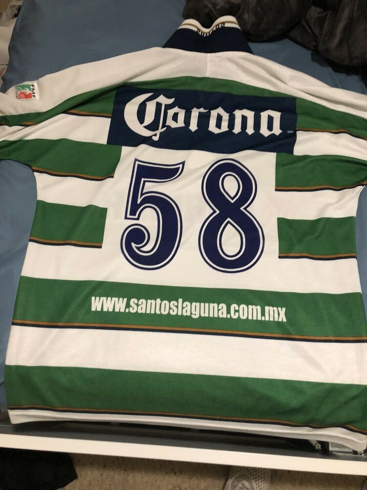 5f0dbe9ac 1980s Santos Laguna Jersey  fashion  clothing  shoes  accessories   mensclothing  othermensclothing (ebay link)