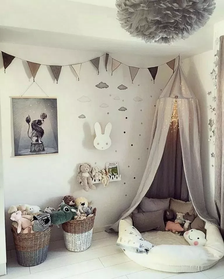 21+ Inspiration for the Chicest of Toddler Rooms < Home Design Ideas < queenchefrecipes.com #ToddlerRooms #Inspiration #Rooms #toddlerrooms