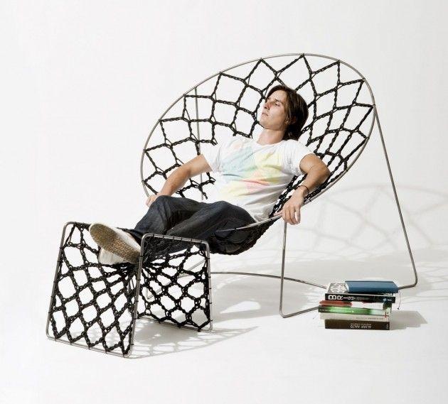 Australian designer Henry Sgourakis has created the NOOK chair ...