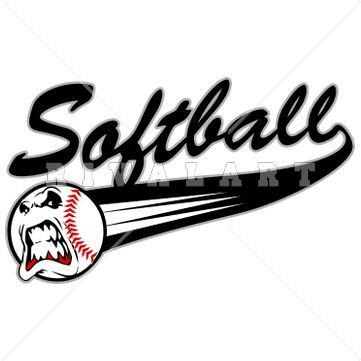 sports clipart image of softball player pretty girl college rh pinterest com softball logo pictures softball logo pics