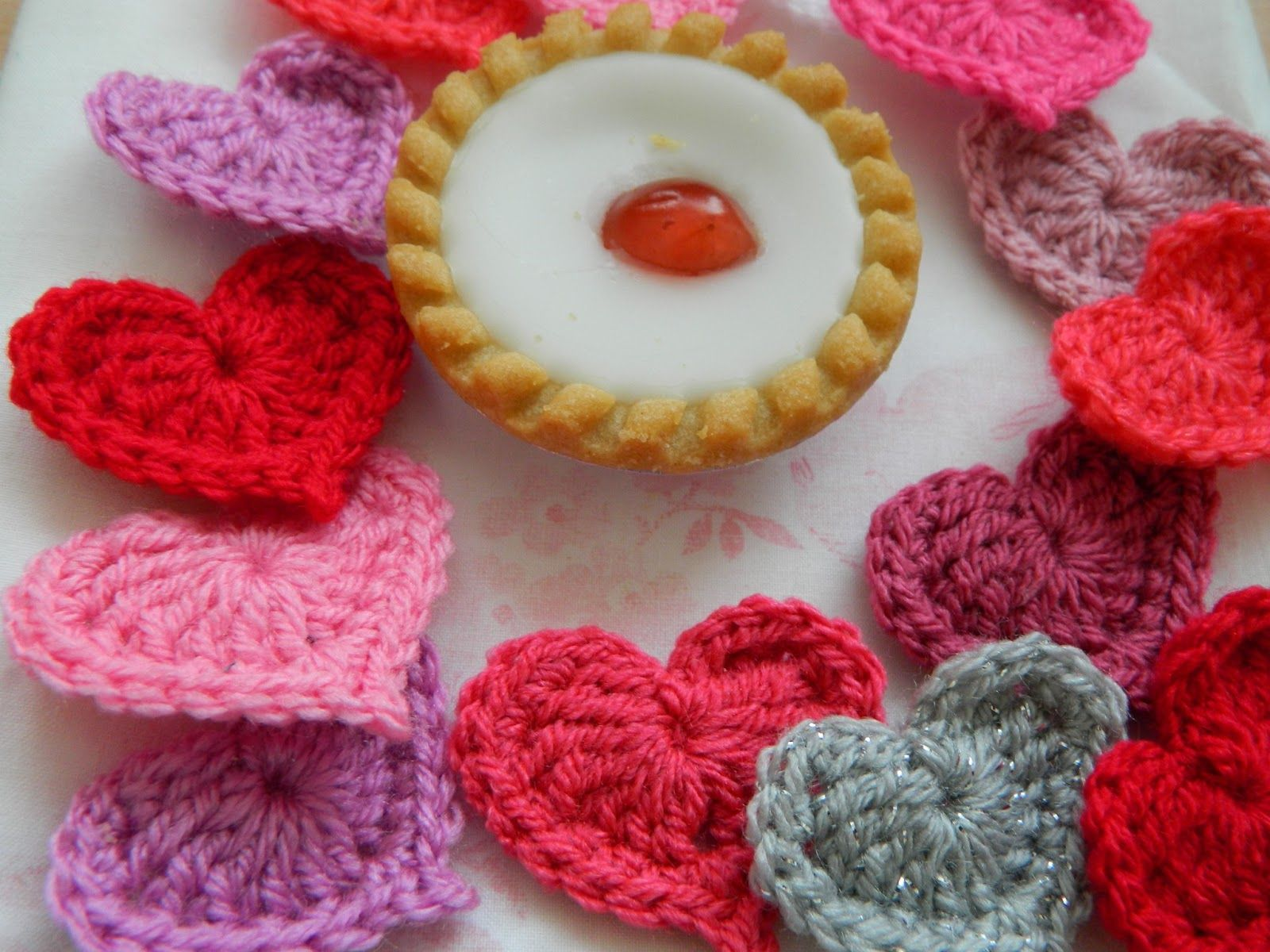 Pinkfluffywarrior Cute Hearts For Valentine S Day