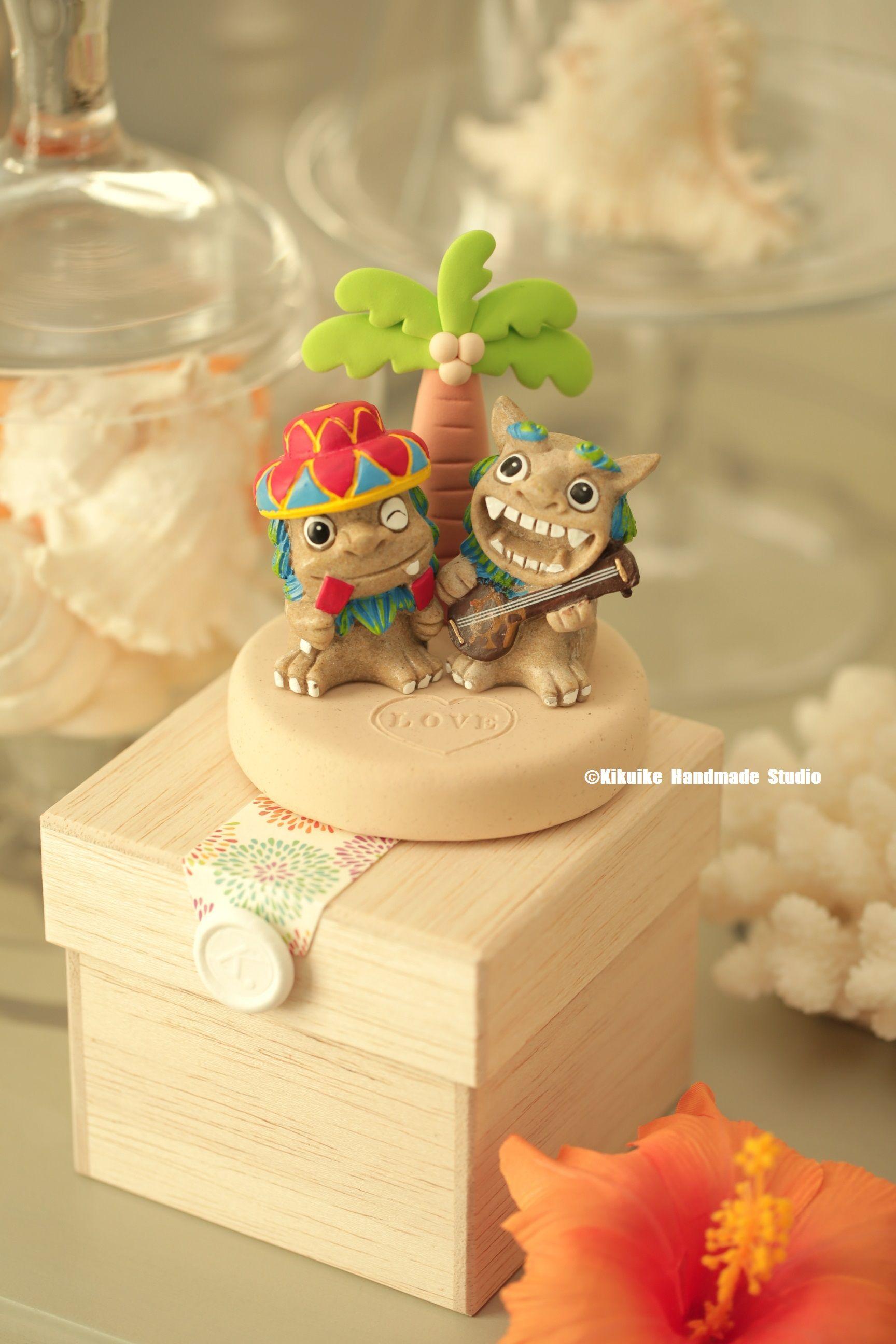 Japan Okinawa Shi Sa Lion Couple Okinawa Shi Sa Home Decor Wedding